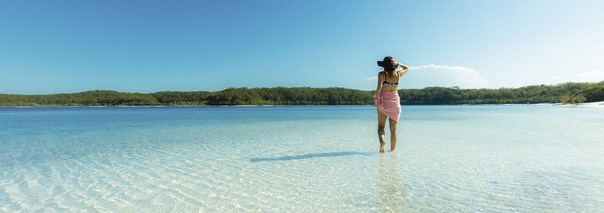 Fraser Island Lake McKenzie solitude