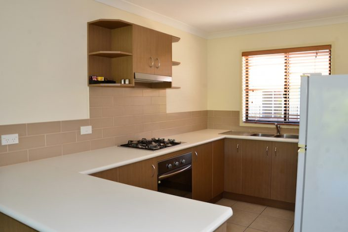 Kitchens are modern & fully equipped