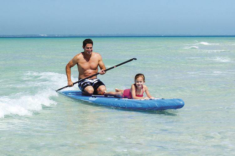 Paddle boarding Hervey Bay